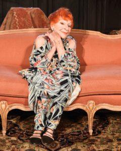 Ari Seth Cohen's Muse, Ilona Royce Smithkin modeling for High Fashion Designer Mara Hoffman