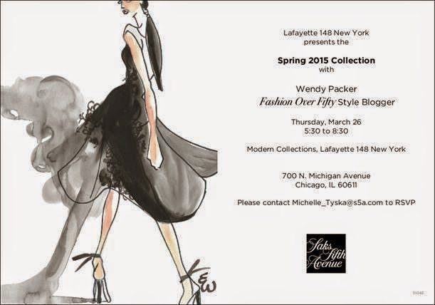 Join Us This Thursday at Saks