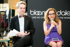 Presenting the Fashion Over Fifty models at Bloomingdales