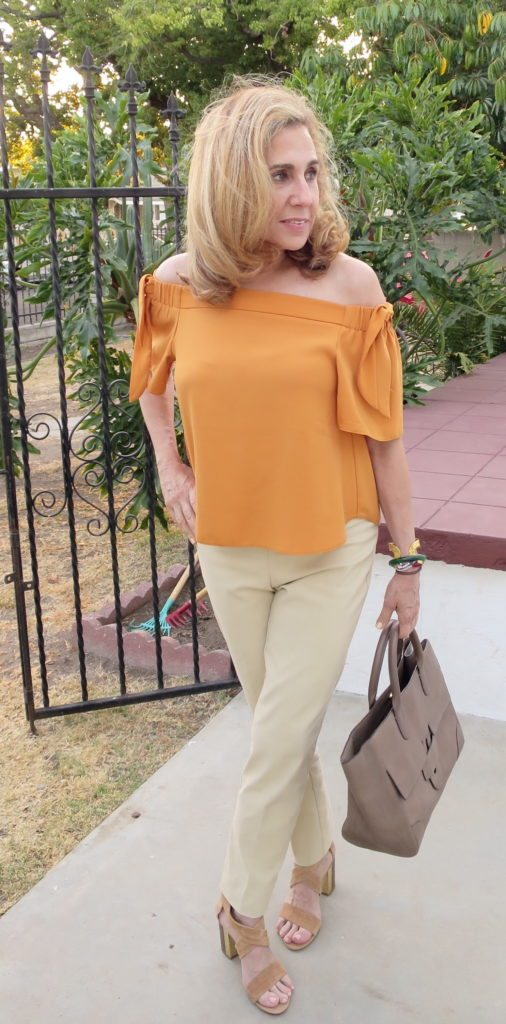 Great for warmer or cool weather, Lisette L pants are so easy to wear.