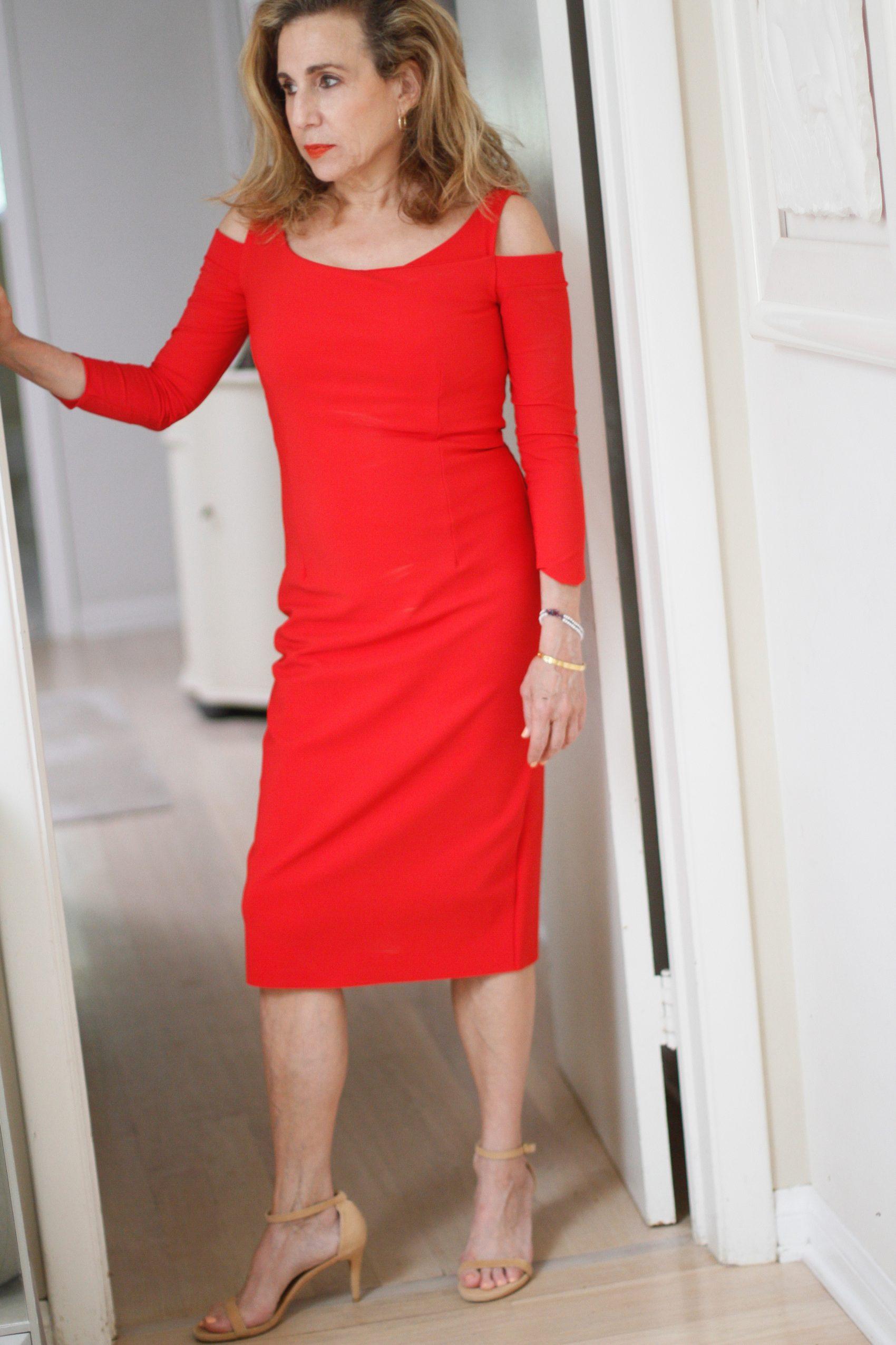 red dressss