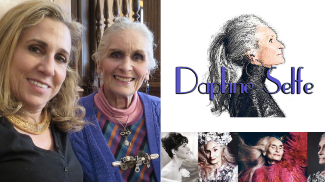 The most perfect day with icon model Daphne Selfe at Brown's Hotel for High Tea