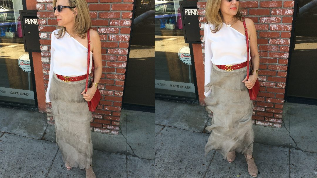 No One is Ever Too Old to Wear a Layered Skirt, even Over Fifty
