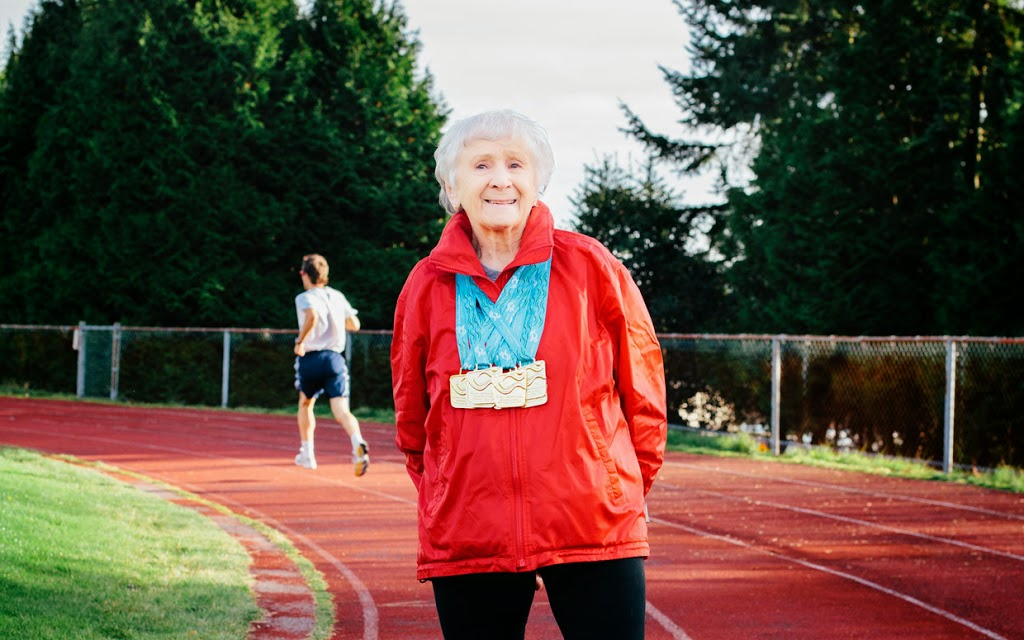 A New Book Looks in to the Life of a Ninety Year Old Runner Who Holds over 23 World Records!!   How we Can Shape our DNA