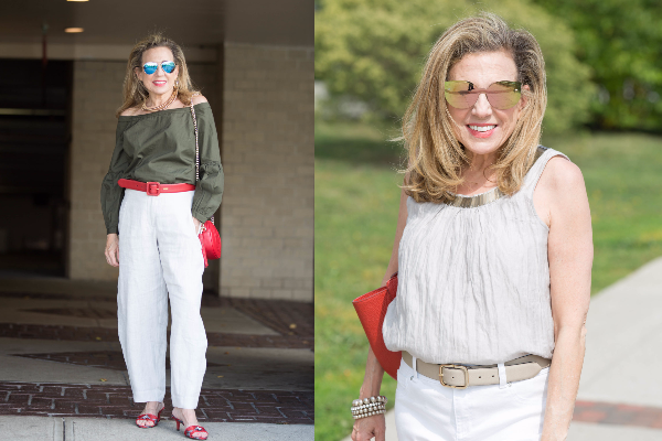 As a Mature Woman Over Fifty, what I wore during NYFW