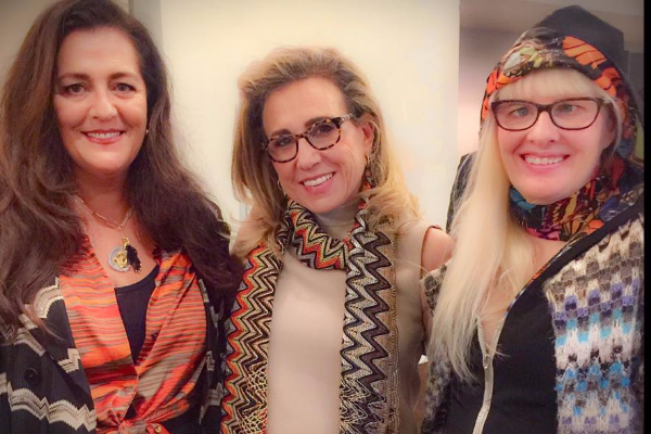 Angela Missoni in Chicago: a Wonderful Daughter Represents this Eponymous line Beautifully