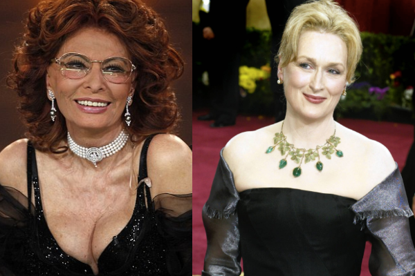 Cleavage vs. No-cleavage on Women Over Fifty