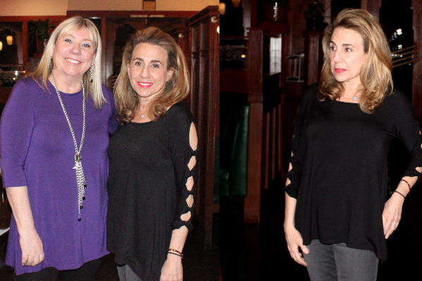 Dinner with Designer Dedicated to Women Over Fifty, Pauline from Covered Perfectly