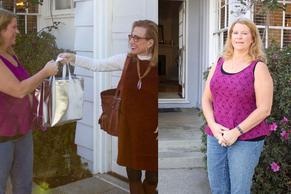 Fashion Over Fifty's Makeover on the First Winner, Rosalie!!  Part I