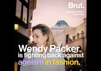 Fashion Over Fifty Fights Ageism – Featured by Brut on Facebook