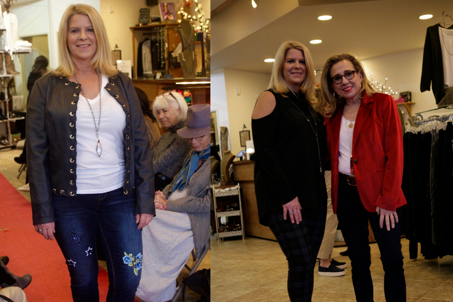 The Grand Entrance of Rosalie, Fashion Over Fifty's Makeover Queen. Voila!!