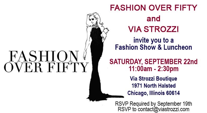 You're Invited to a Fashion Show & Luncheon in Chicago!