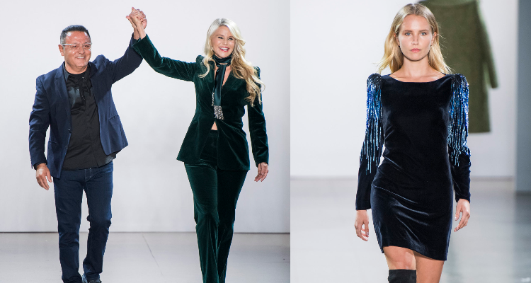 NYFW: Fall 2019  Over Fifty model, Christie Brinkley, 65, walks the runway for Elie Tahari, along with her daughter Sailor