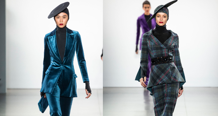 Chiara Boni Knocks it Out of the Park with her Retro Look for Fall 2019 at NYFW